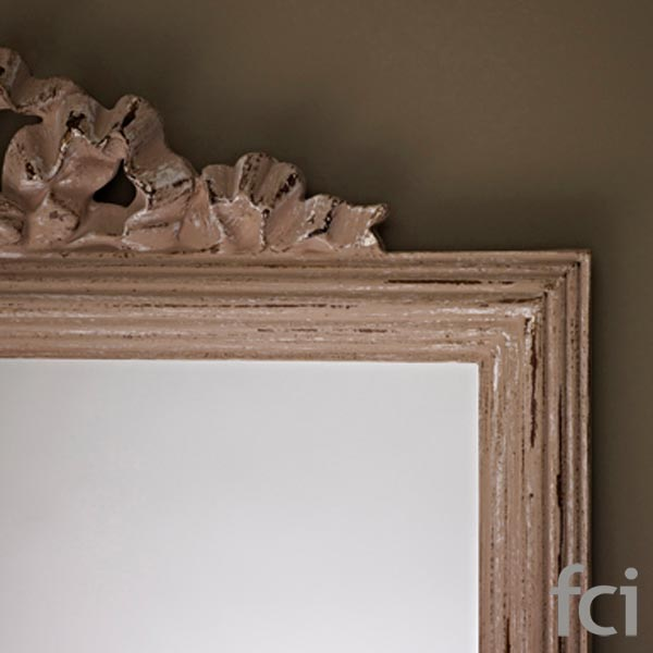 Homy Beige Wall Mirror by Reflections