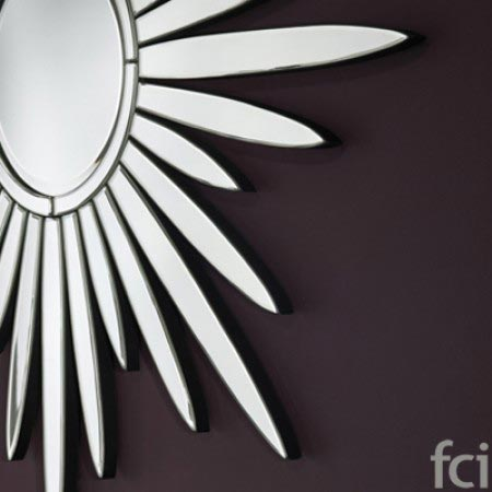 Luce Wall Mirror by Reflections