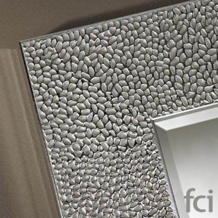 Oslo Silver Xl Wall Mirror by Reflections