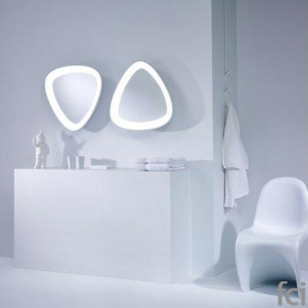 Scoopy Wall Mirror by Reflections