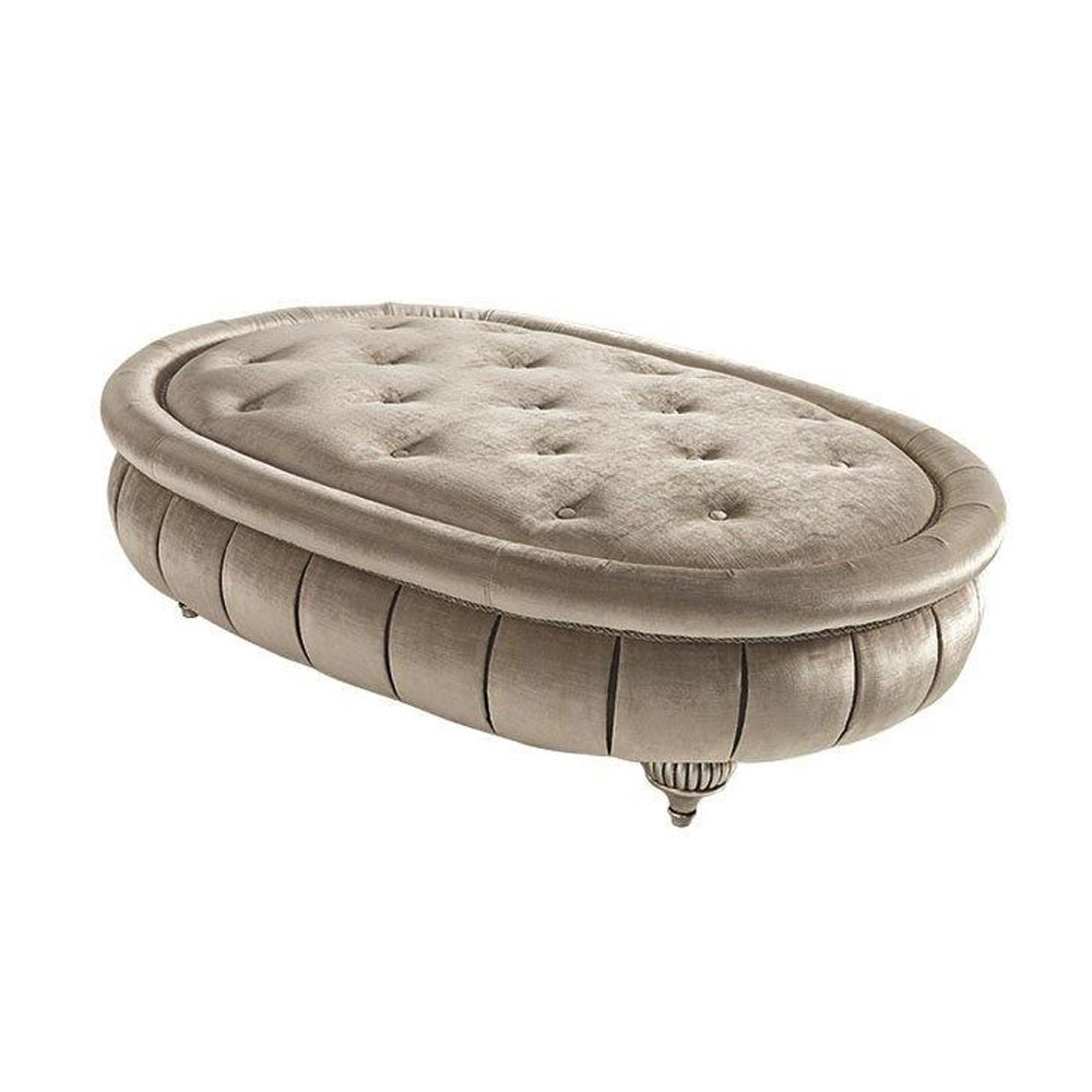 First Lady Oval Footstool by Silvano Luxury