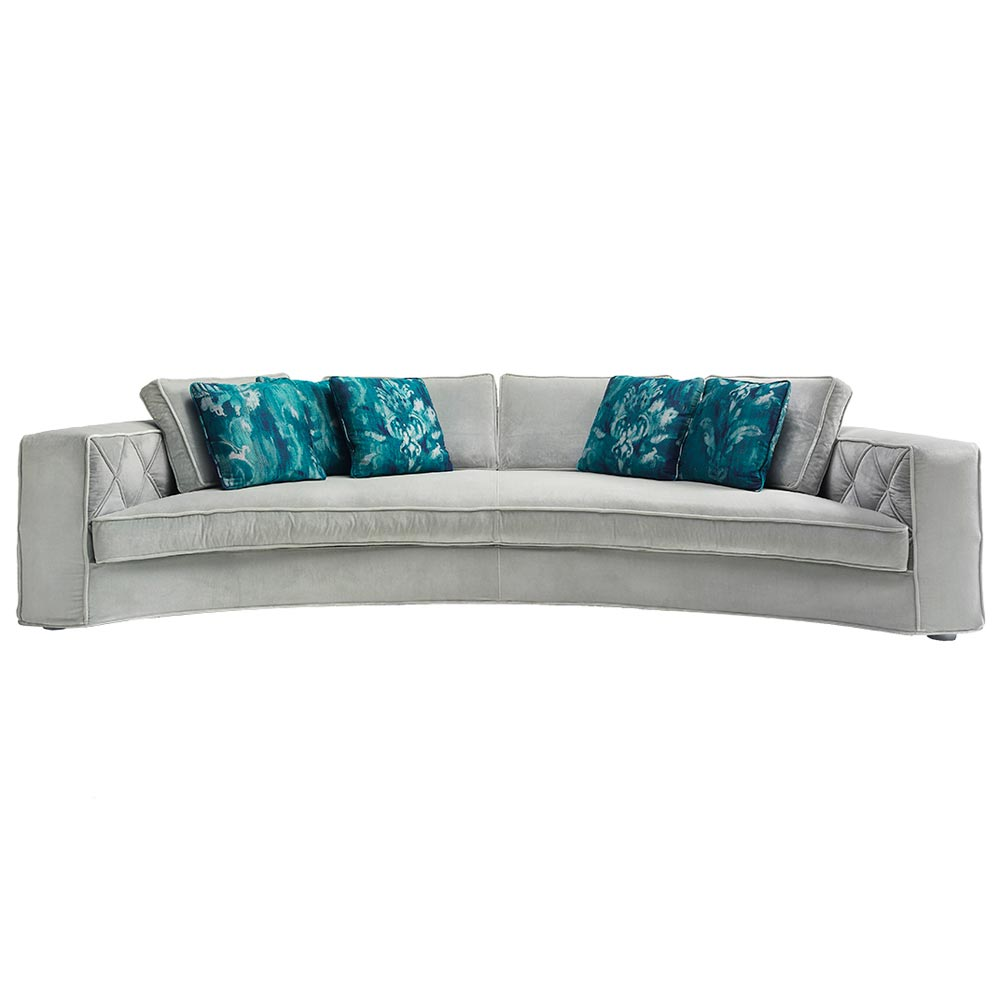 Richmond Curved Sofa by Silvano Luxury