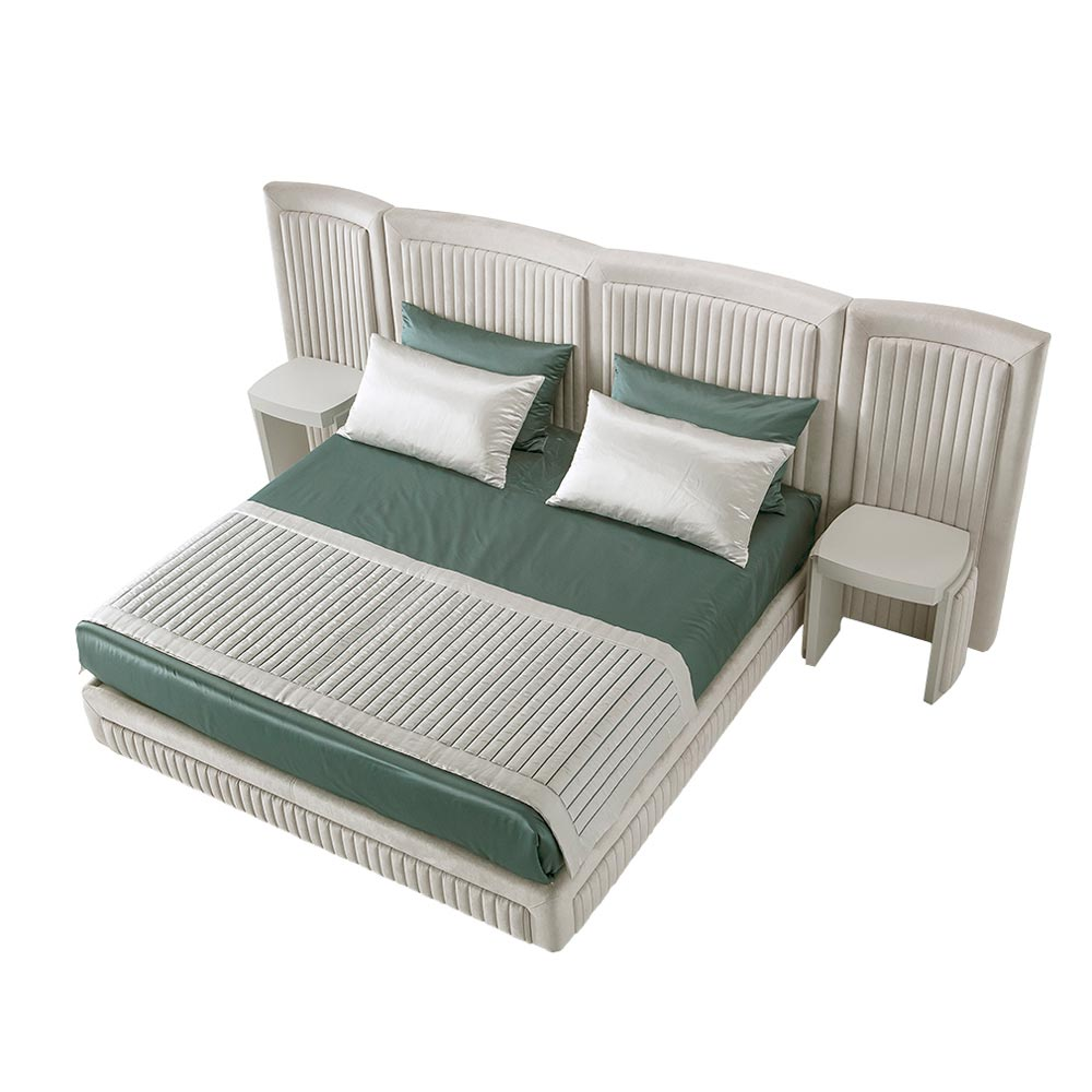 Shell Double Bed by Silvano Luxury