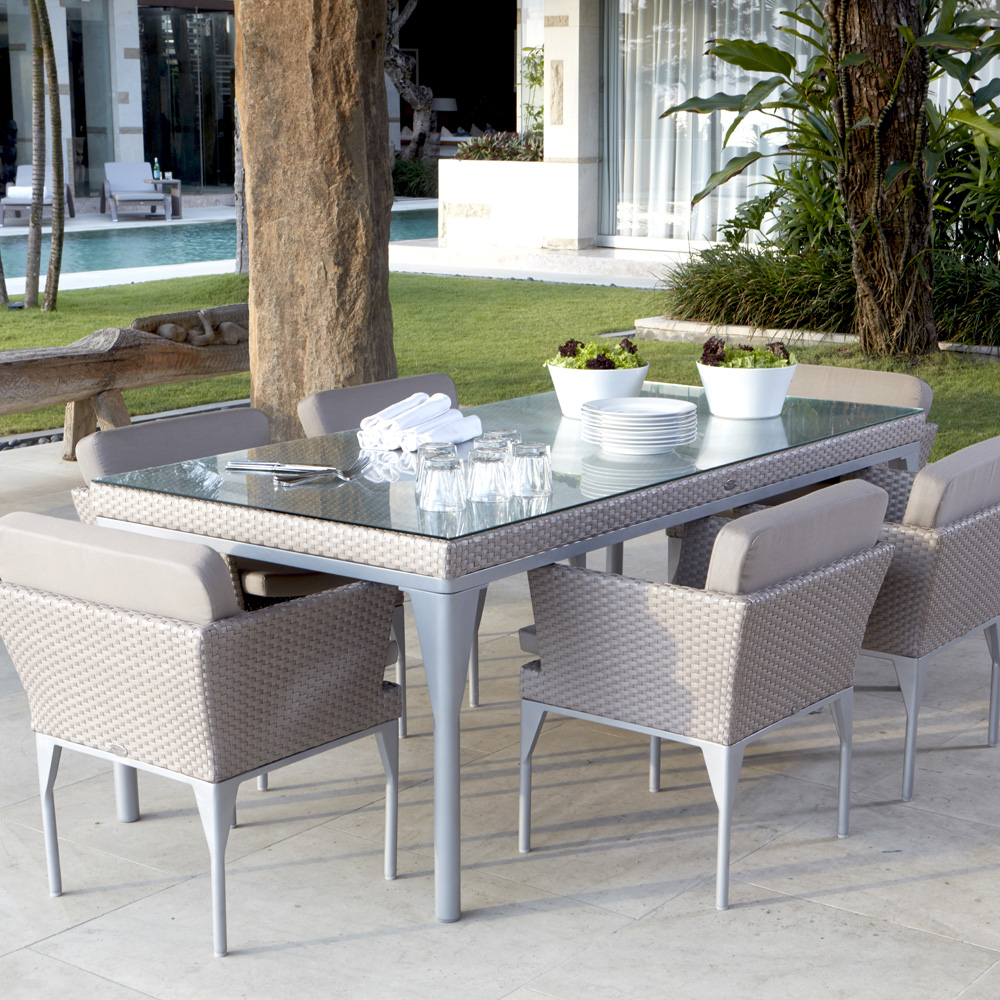 Brafta 6 Seat Dining Table by Skyline Design