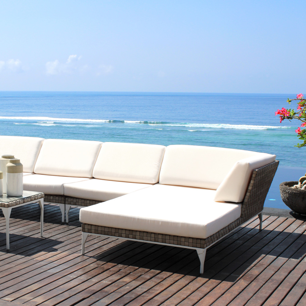 Brafta Corner Outdoor Sofa by Skyline Design