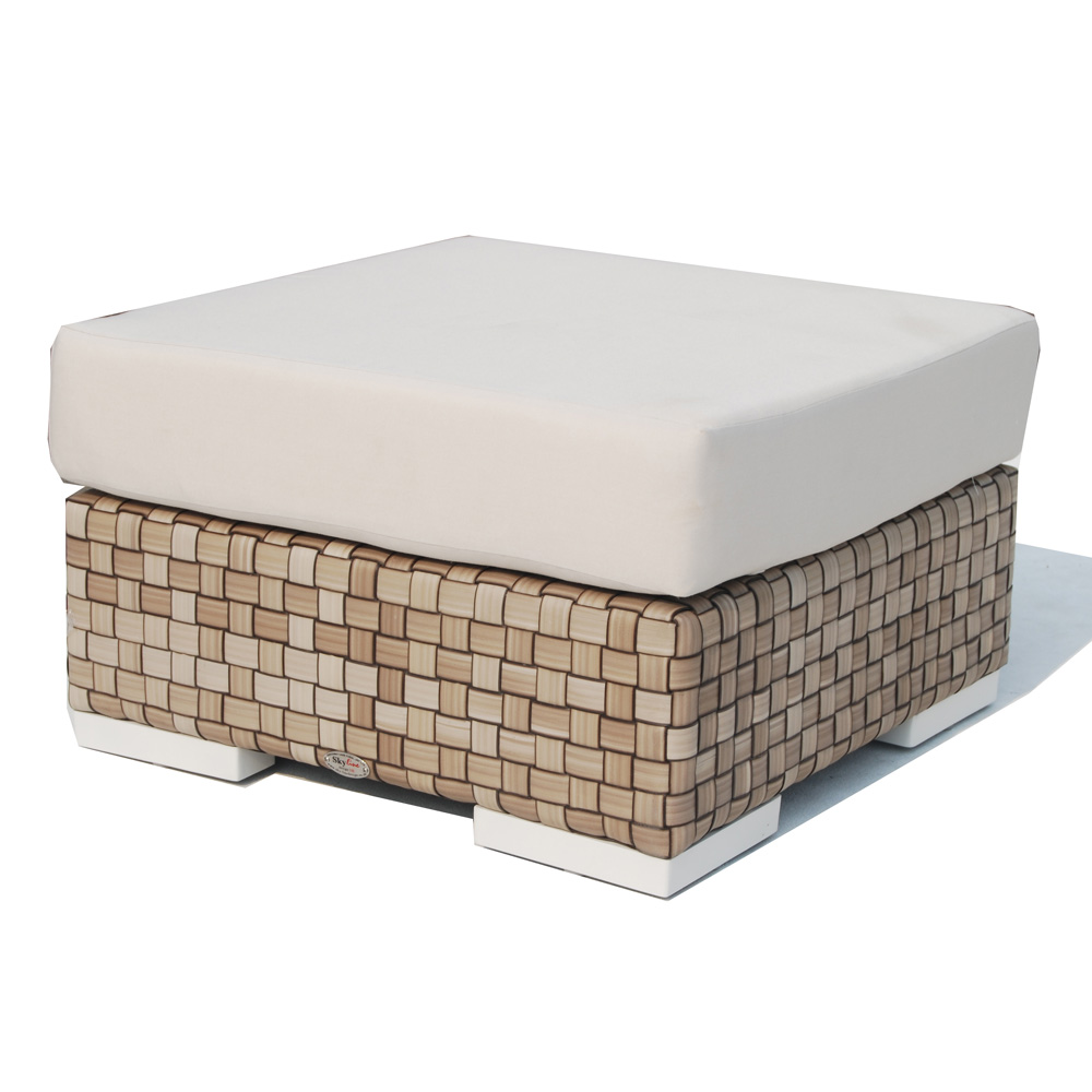 Brando Footstool by Skyline Design