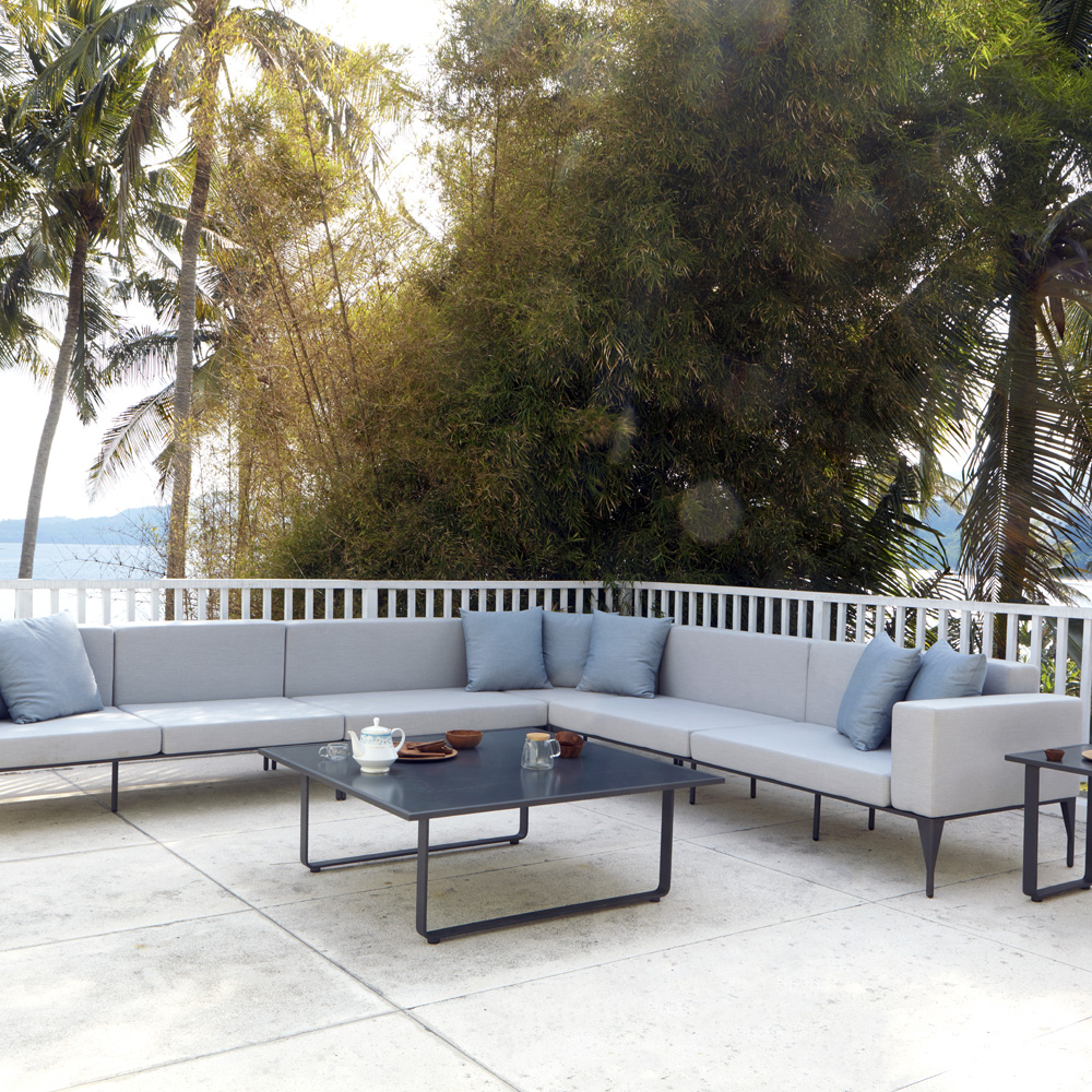 Brenham Corner Outdoor Sofa by Skyline Design