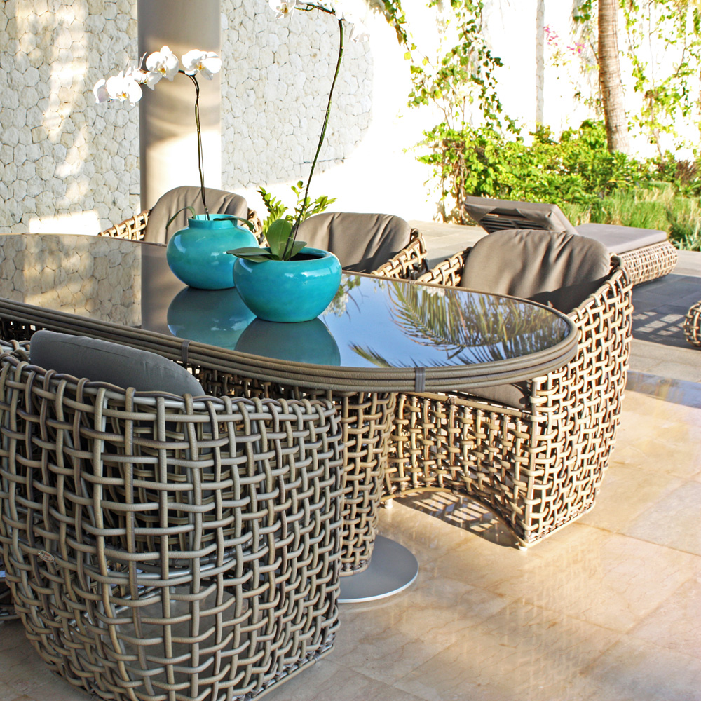 Dynasty Small Outdoor Armchair by Skyline Design