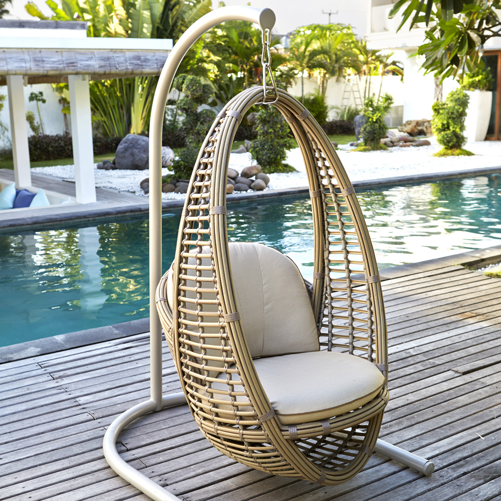 Heri Hanging Outdoor Chair by Skyline Design