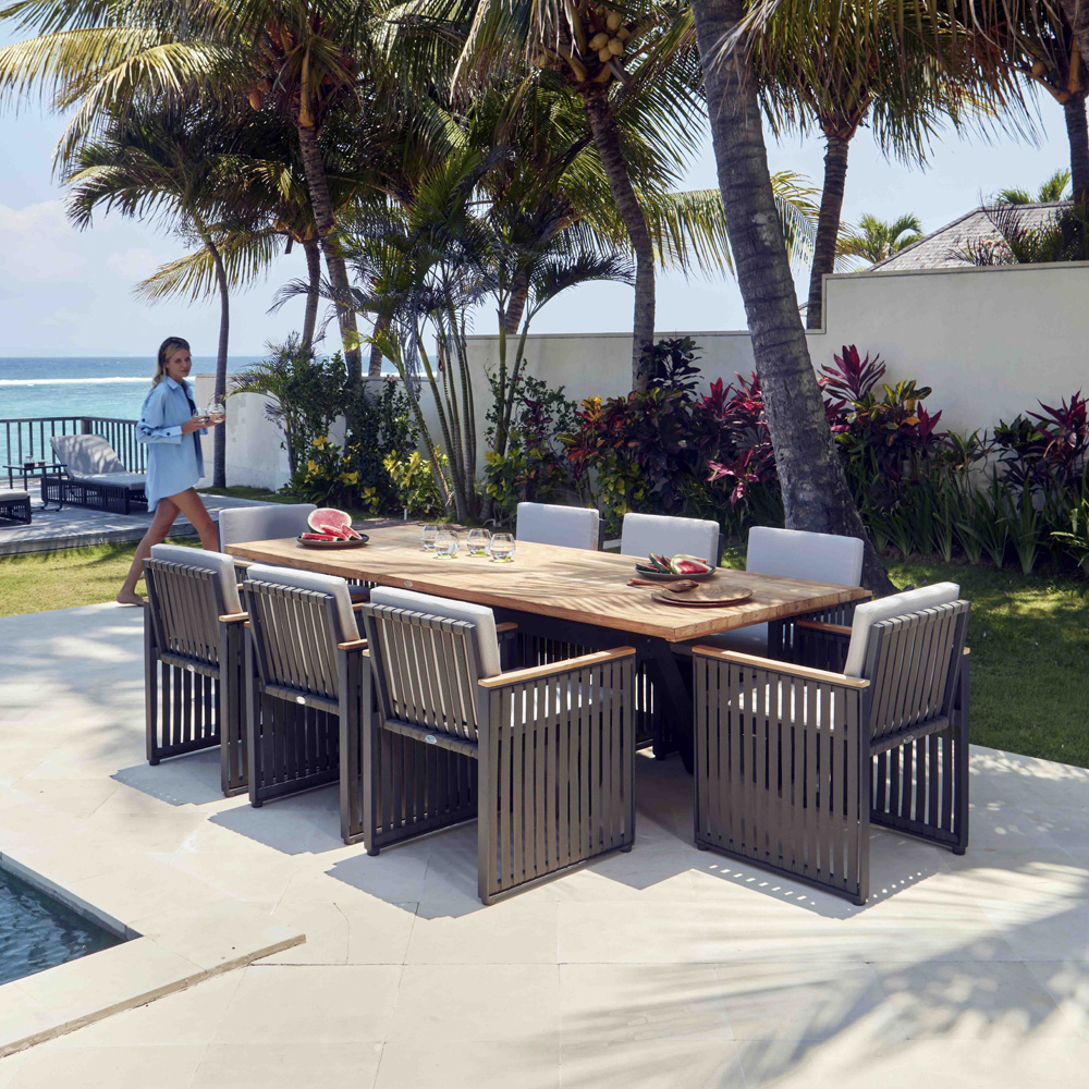 Horizon 8 Seat Dining Table by Skyline Design