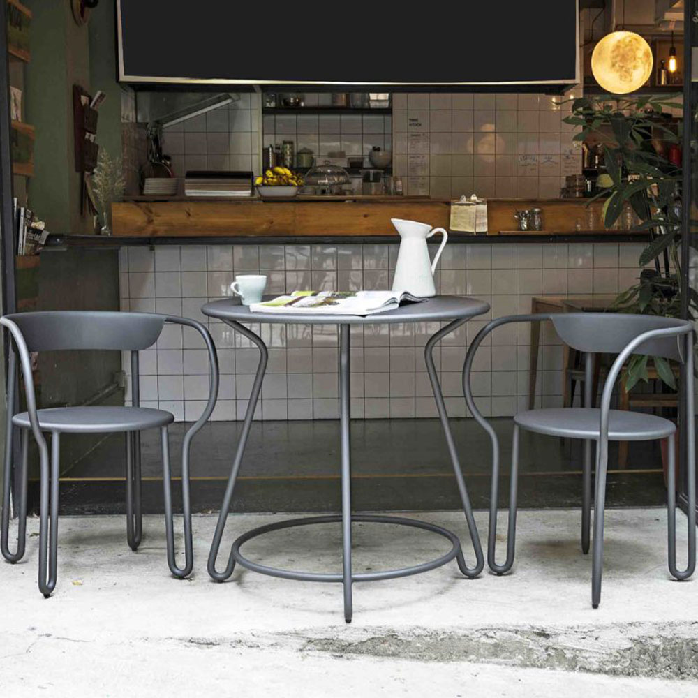 Huggy Bistro Bar Table by Skyline Design