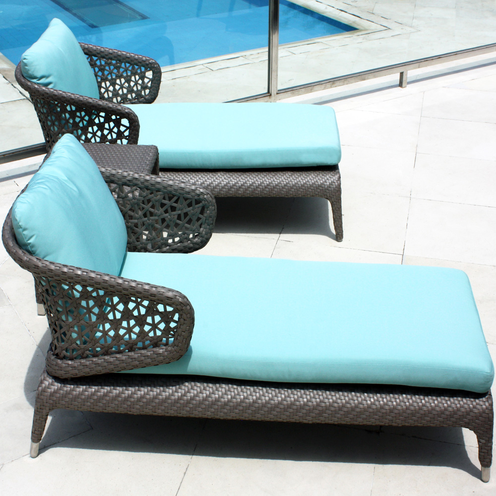 Journey Chaise Longue by Skyline Design