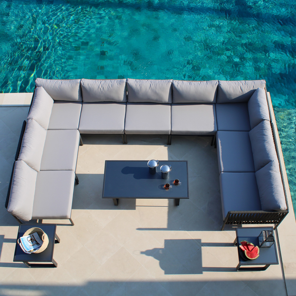 Kitt Left Outdoor Sofa by Skyline Design