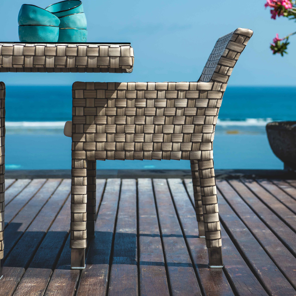 Metz Outdoor Armchair by Skyline Design