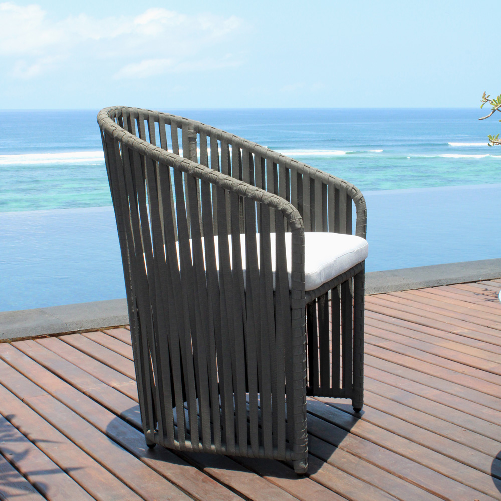 Milano Small Outdoor Armchair by Skyline Design