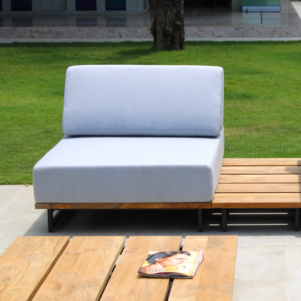Ona Central Outdoor Sofa by Skyline Design