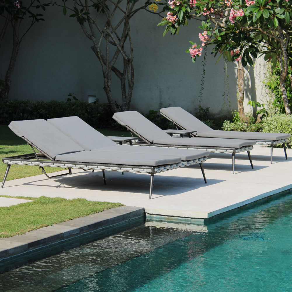 Serpent Double Sun Lounger by Skyline Design