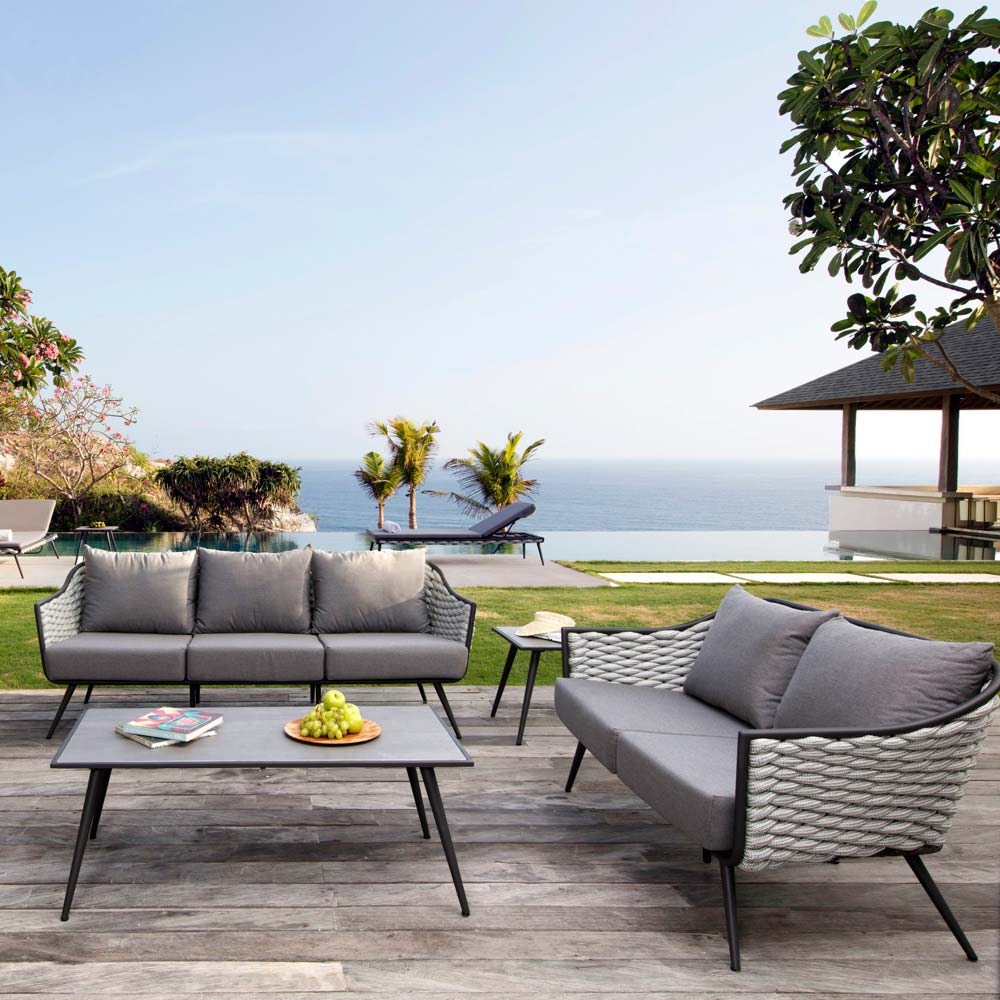 Serpent Outdoor Sofa by Skyline Design