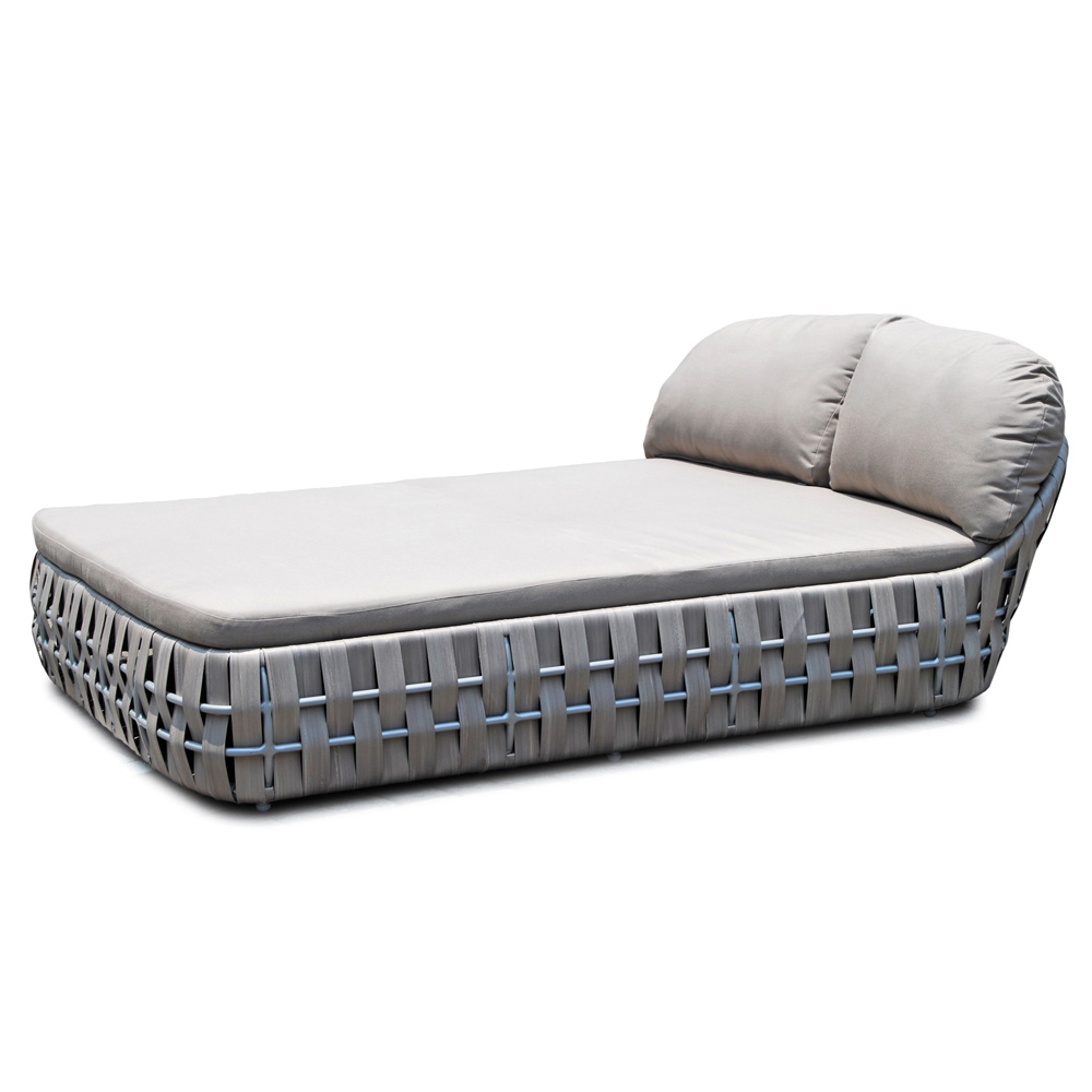 Strips Double Lounger by Skyline Design
