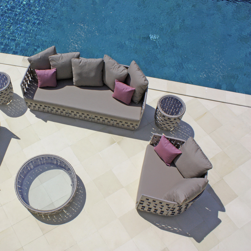 Strips Outdoor Sofa by Skyline Design