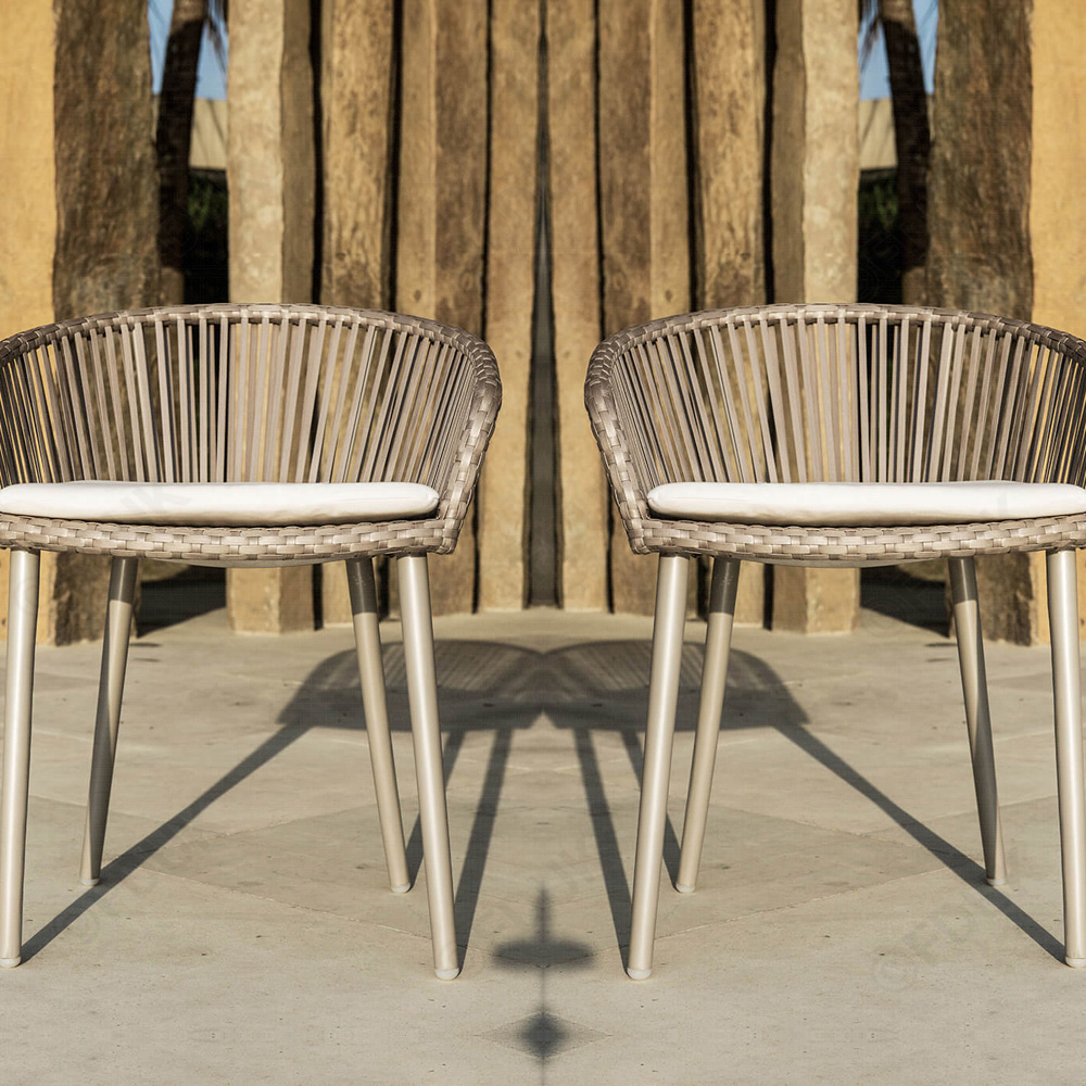 Valetti Outdoor Armchair by Skyline Design