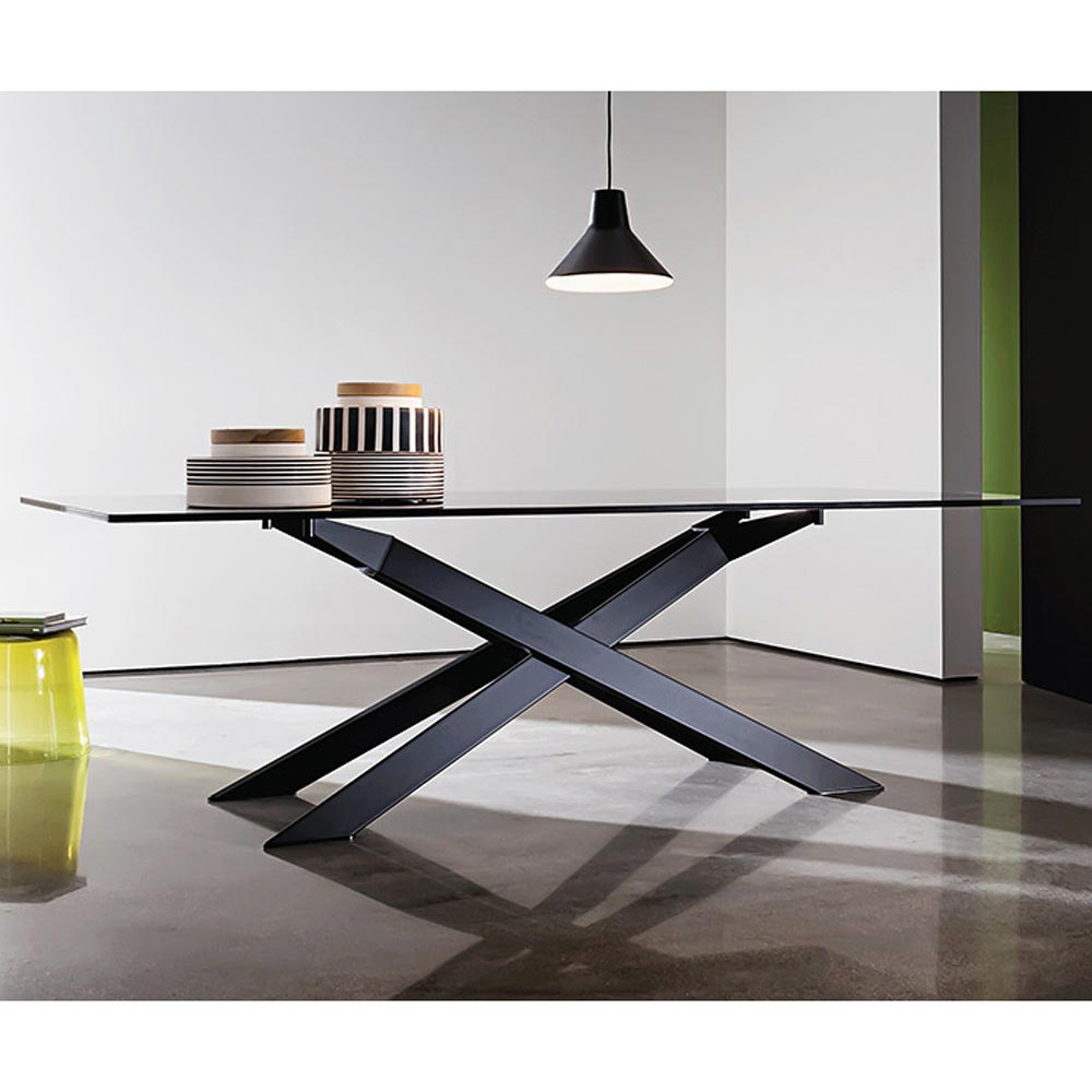 Cross Dining Table by Sovet Italia