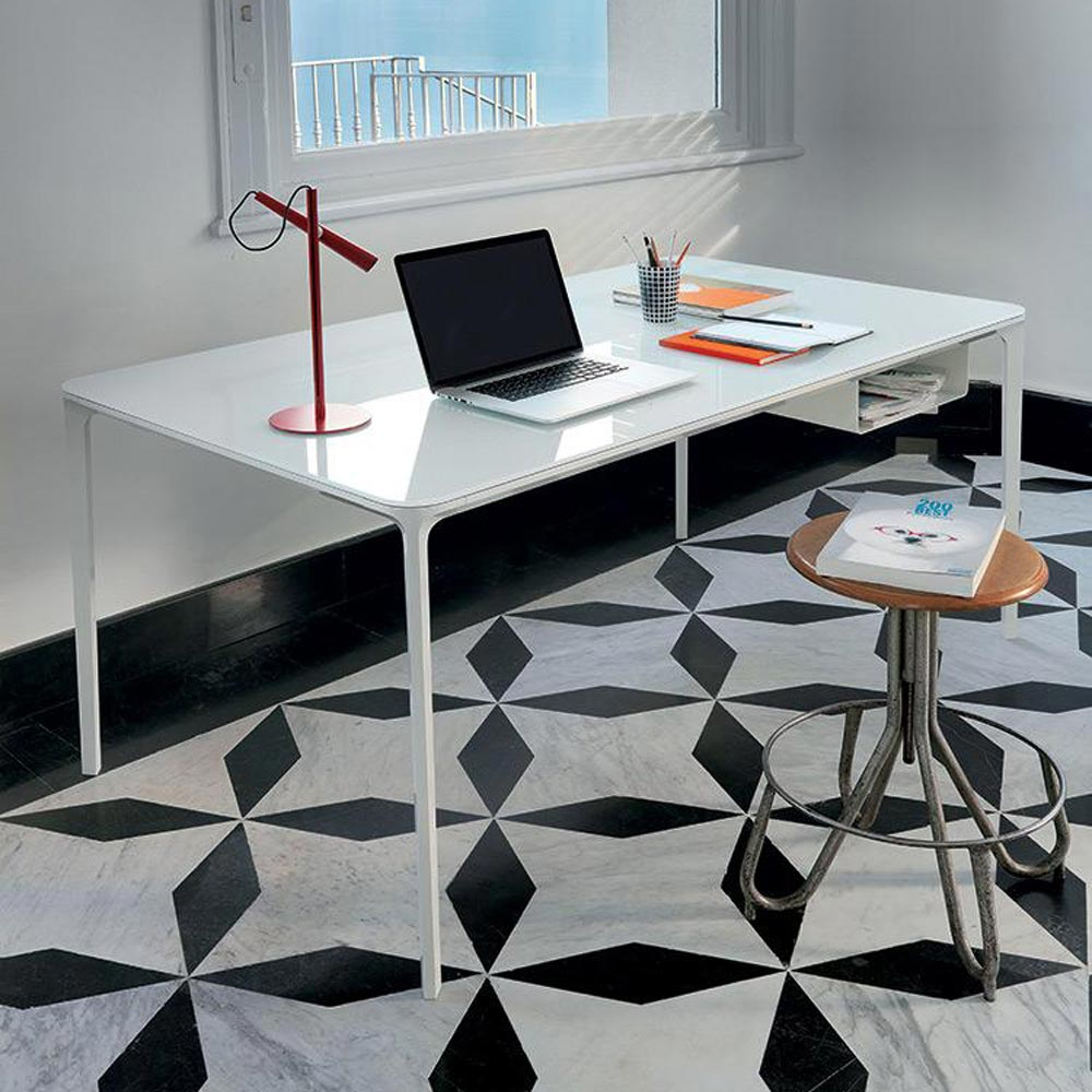 Slim Office Desk by Sovet Italia