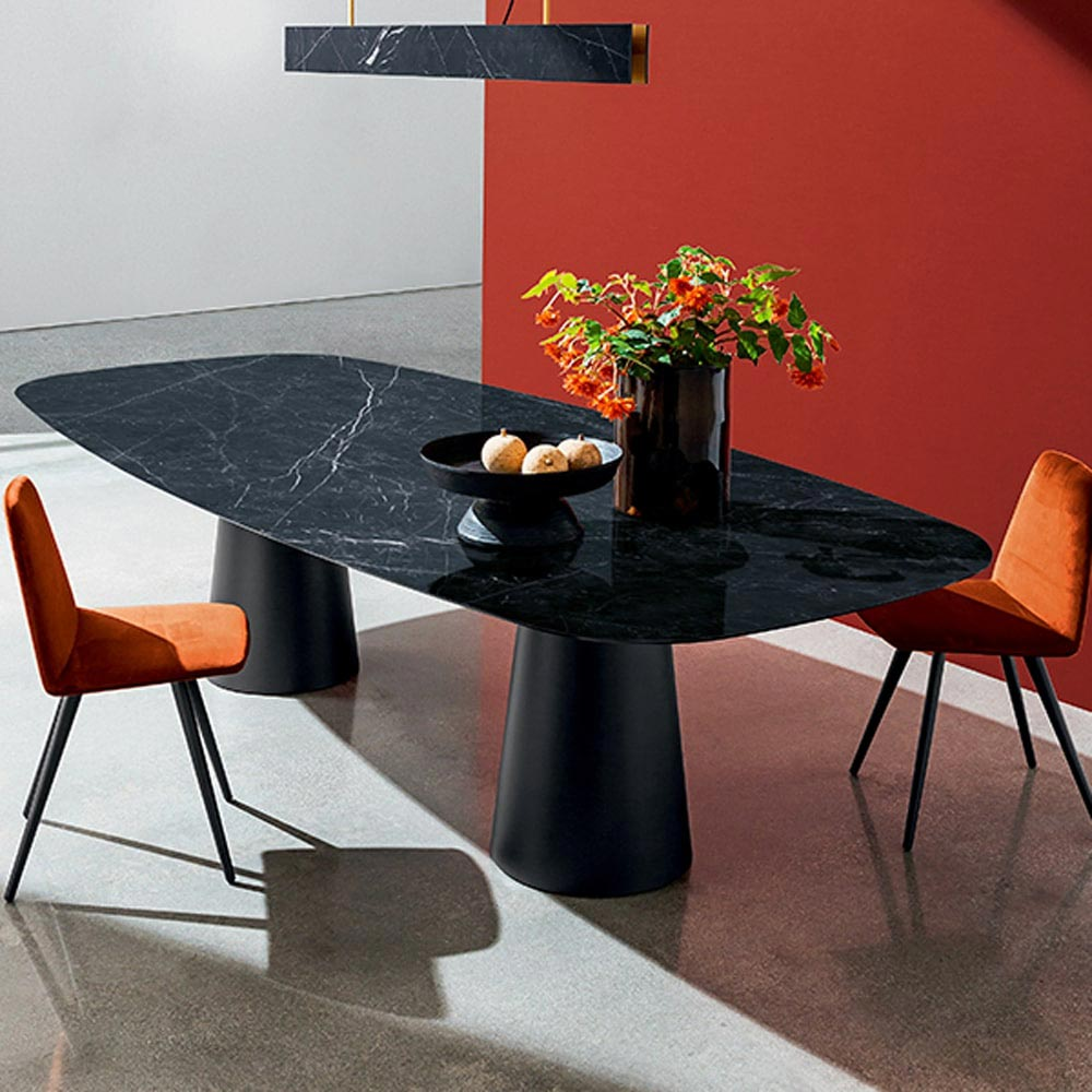 Totem Two Bases Dining Table by Sovet Italia