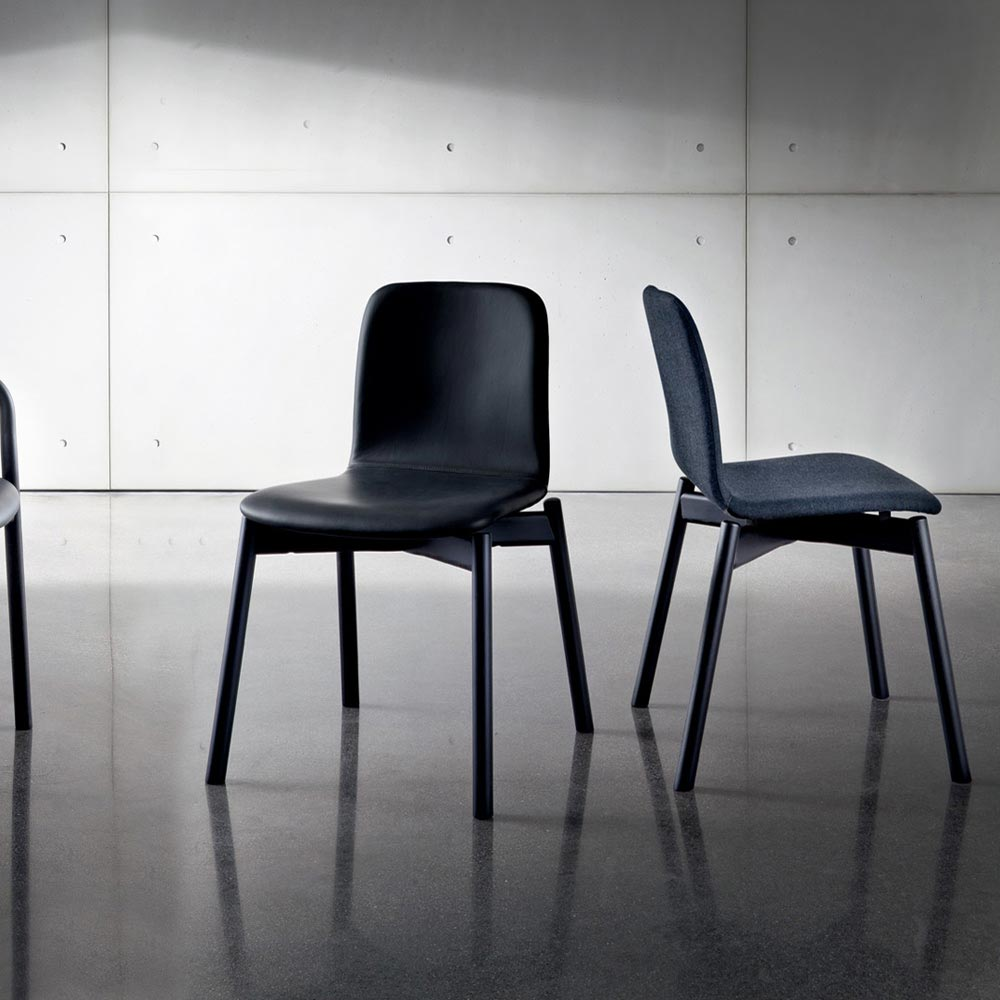 Two Tone Dining Chair by Sovet Italia