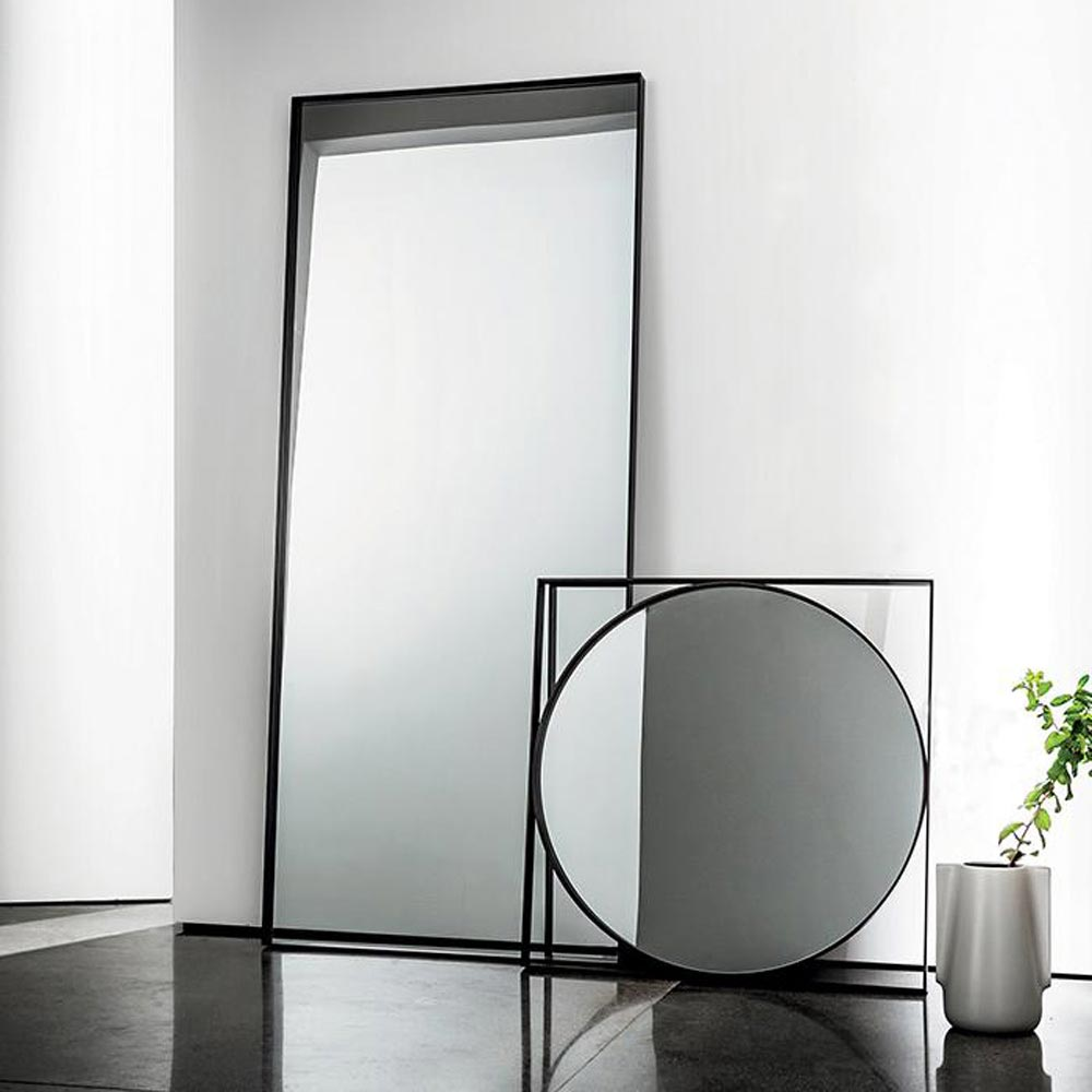Visual Rectangular Mirror by Sovet Italia