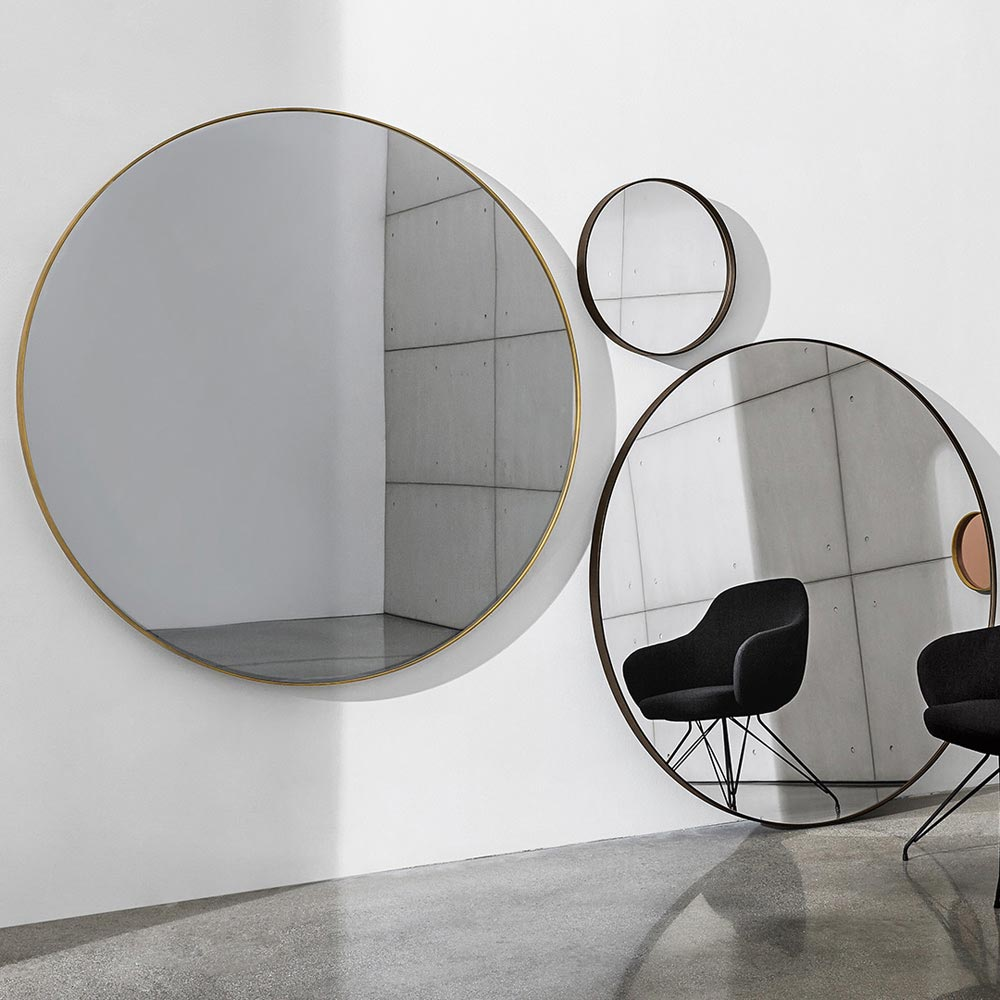 Visual Round Mirror by Sovet Italia