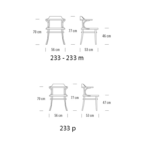 809 Lounge Chair by Thonet