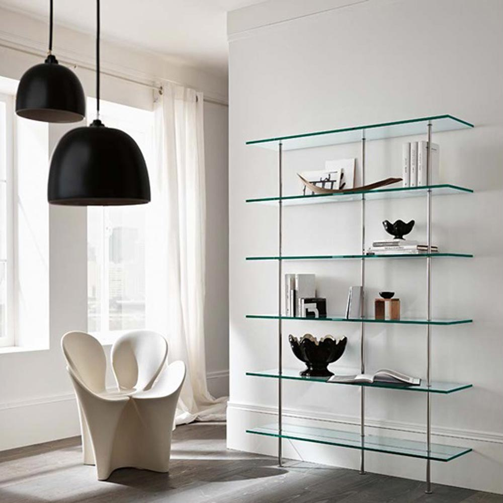 Trasparenza Bookcase by Tonelli Design