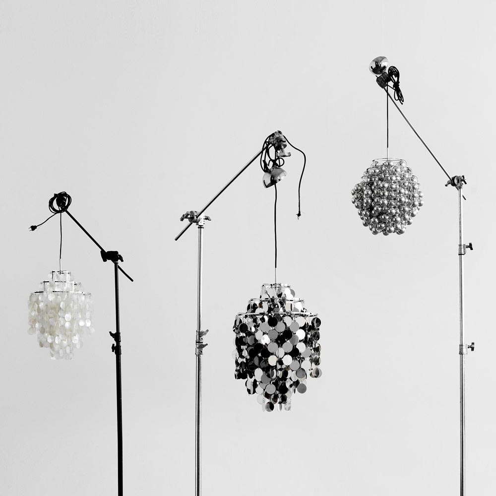 Ball Pendant Lamp by Verpan