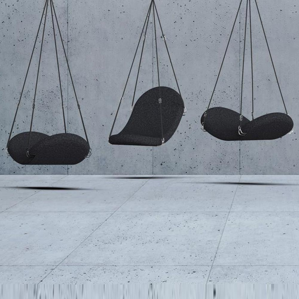 Flying Suspension Lounger by Verpan
