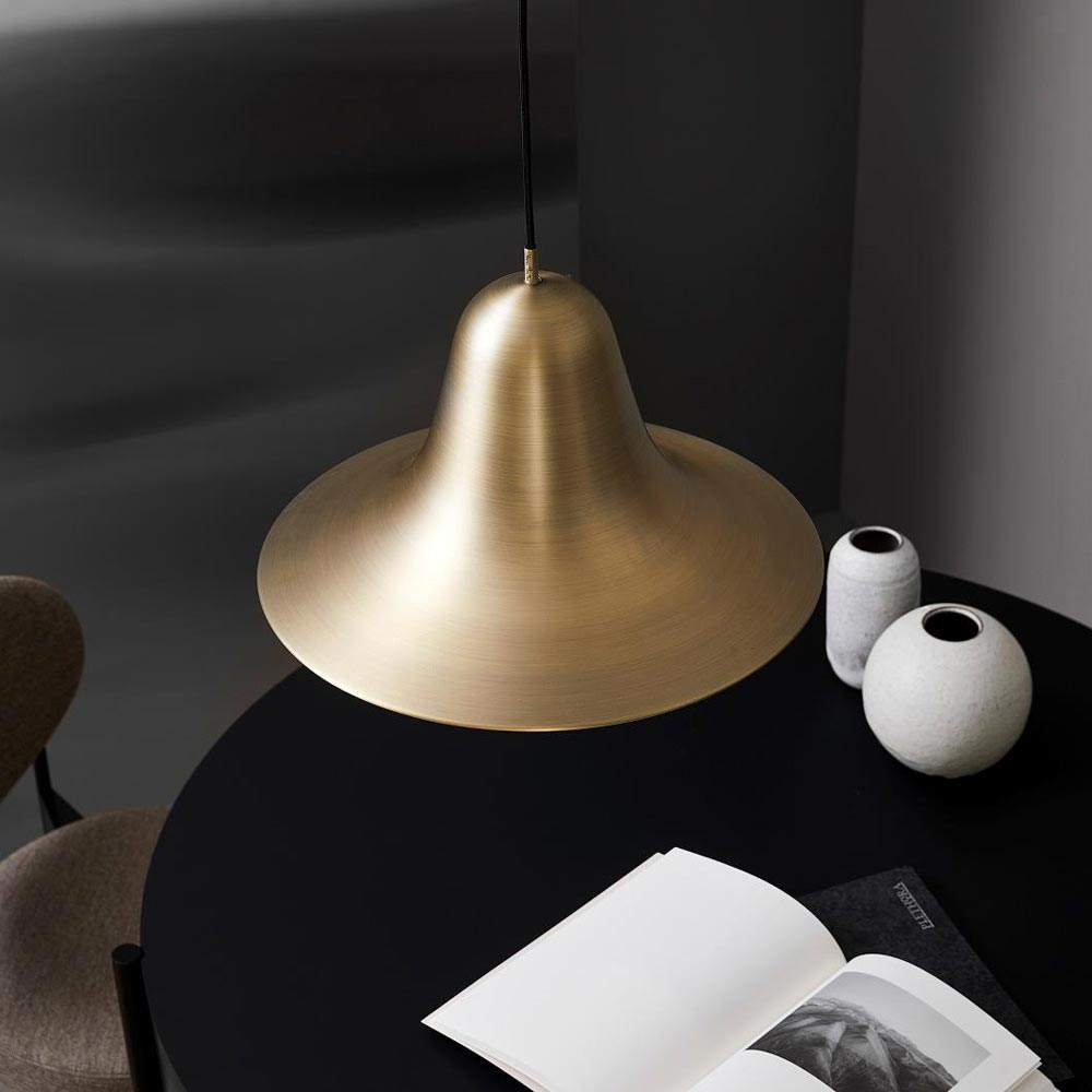 Pantop 45 Antique Brass Pendant Lamp by Verpan