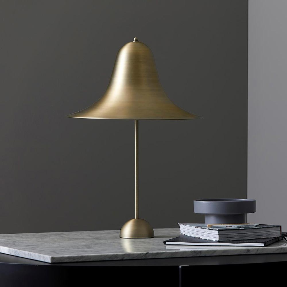 Pantop 45 Antique Brass Table Lamp by Verpan