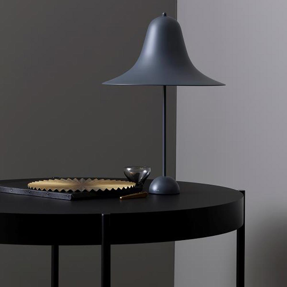 Pantop 45 Grey Table Lamp by Verpan