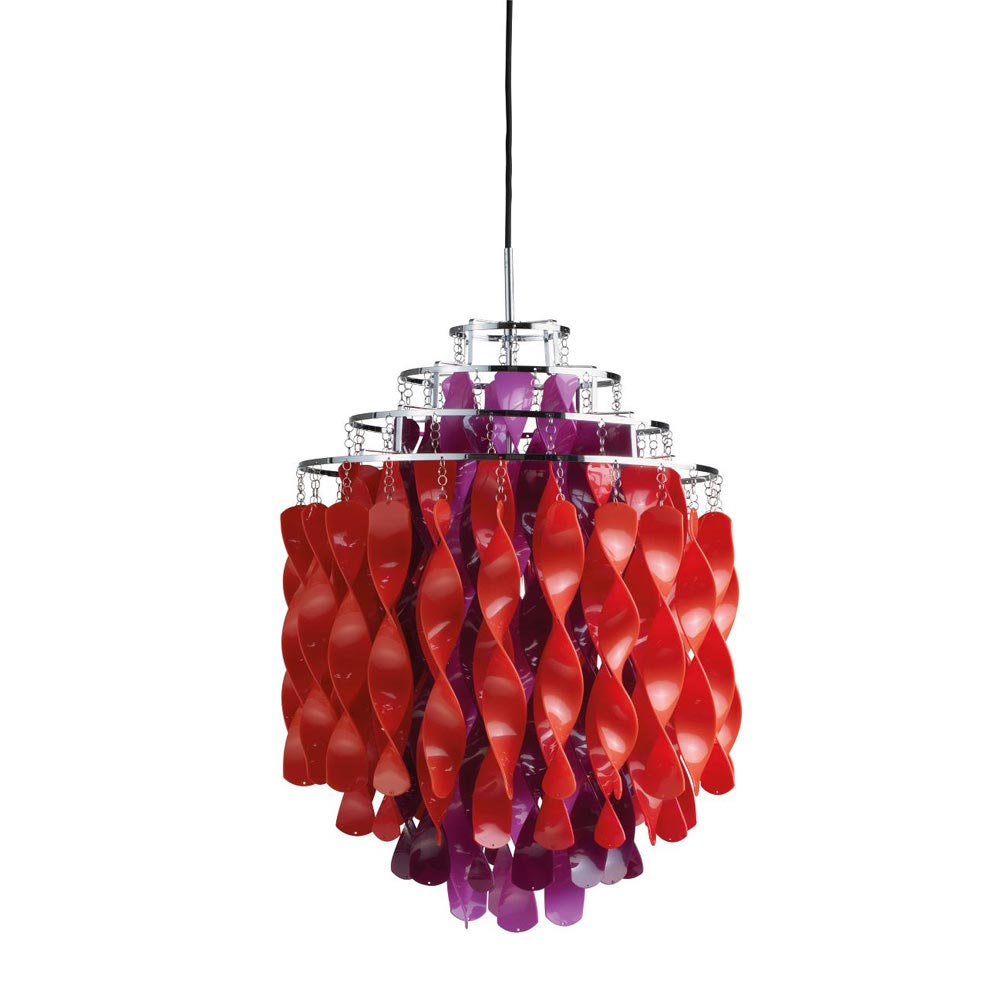 Spiral Sp01 Multicolour Pendant Lamp by Verpan