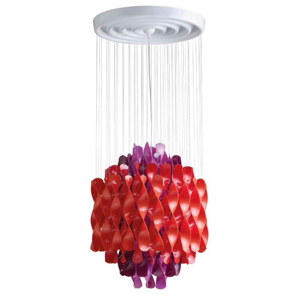 Spiral Sp1 Multicolour Pendant Lamp by Verpan
