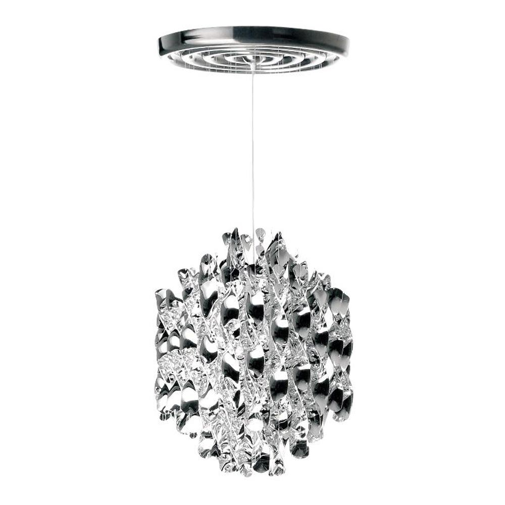 Spiral Sp1 Silver Pendant Lamp by Verpan