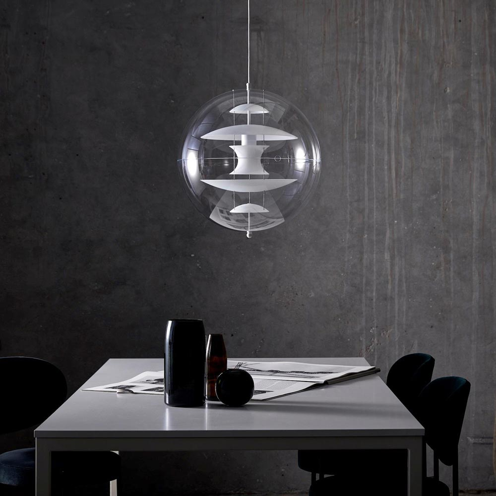 Vp Globe Glass Dia 40 Cm Pendant Lamp by Verpan