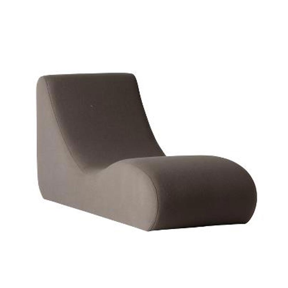 Welle 4 Sun Lounger by Verpan